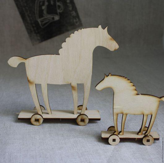 Куклы и игрушки ручной работы. Ярмарка Мастеров - ручная работа. Купить Аксессуары для кукол  лошадки (заготовка). Handmade. Бежевый, лошадки