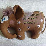 Куклы и игрушки ручной работы. Ярмарка Мастеров - ручная работа Слономух. Handmade.