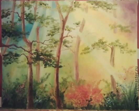 Пейзаж ручной работы. Ярмарка Мастеров - ручная работа. Купить Природа. Handmade. Природа, живопись маслом, маслянная живопись, пейзаж