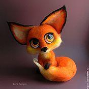 Куклы и игрушки ручной работы. Ярмарка Мастеров - ручная работа Лисица. Handmade.