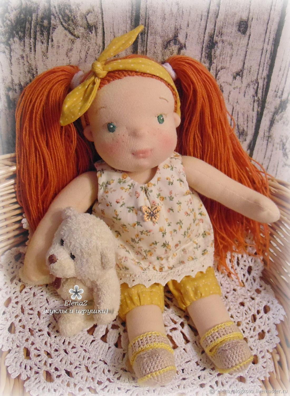 Вальдорфская кукла Ксюша, Вальдорфская игрушка, Верхний Уфалей, Фото №1