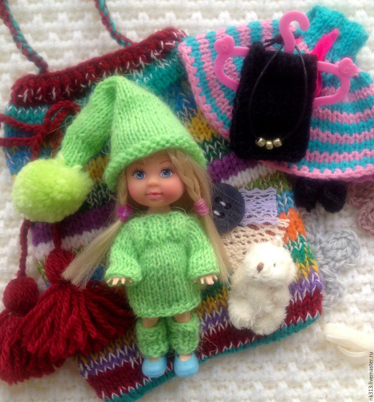 """""""Evi"""" куколка с одеждой в сумочке, Игрушки, Верхний Уфалей, Фото №1"""