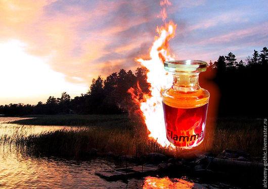 """Натуральные духи ручной работы. Ярмарка Мастеров - ручная работа. Купить """" Flamma """"  натуральные духи. Handmade. Духи"""