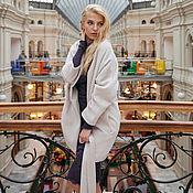 Одежда ручной работы. Ярмарка Мастеров - ручная работа Кашемировое пальто, кремовое. Handmade.