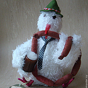 Куклы и игрушки ручной работы. Ярмарка Мастеров - ручная работа Интерьерная игрушка Мохноптиц. Handmade.