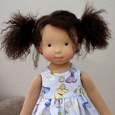 Куклы и игрушки ручной работы. Ярмарка Мастеров - ручная работа Куколка для Мирьям, 44 см вальдорфская кукла ООАК. Handmade.