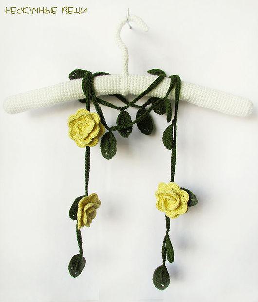 Шарфы и шарфики ручной работы. Ярмарка Мастеров - ручная работа. Купить Декоративные шарфы с розами. Handmade. Шарф, цветочный шарф