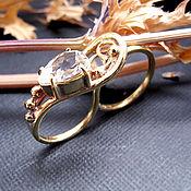 """Украшения ручной работы. Ярмарка Мастеров - ручная работа кольцо на два пальца """" Baroque music"""". Handmade."""