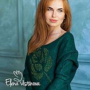 """Одежда ручной работы. Ярмарка Мастеров - ручная работа Валяное платье """"Lush Meadow"""". Handmade."""