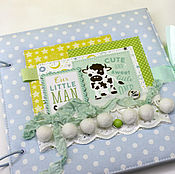 Канцелярские товары handmade. Livemaster - original item Album - diary for mom baby. Handmade.