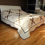 Для дома и интерьера ручной работы. Ярмарка Мастеров - ручная работа Лоскутное одеяло  Большие совы. Handmade.
