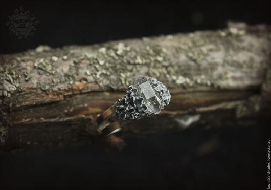 Кольца ручной работы. Ярмарка Мастеров - ручная работа. Купить Кольцо Сrystal lichen. Handmade. Лес, кузница чудес