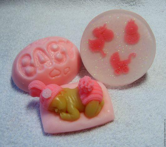 """Подарочные наборы ручной работы. Ярмарка Мастеров - ручная работа. Купить Набор мыла """"Малышка"""". Handmade. Розовый, рождение девочки"""