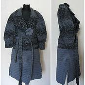 Одежда handmade. Livemaster - original item Grey coat