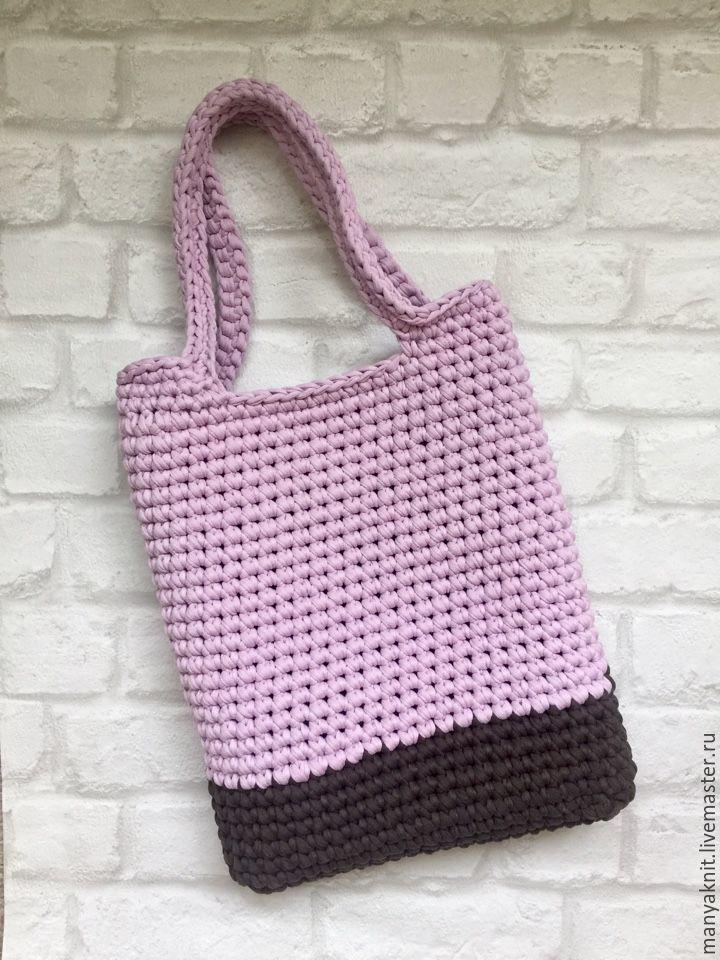 85e8fb21a6cf Вязаная сумка-шоппер, пляжная сумка – купить в интернет-магазине на ...