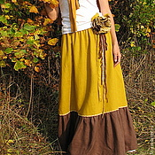 Одежда handmade. Livemaster - original item The floor-length skirt
