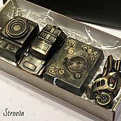 """Косметика ручной работы. Ярмарка Мастеров - ручная работа Подарочный набор мыла """"Настоящему мужчине"""". Handmade."""