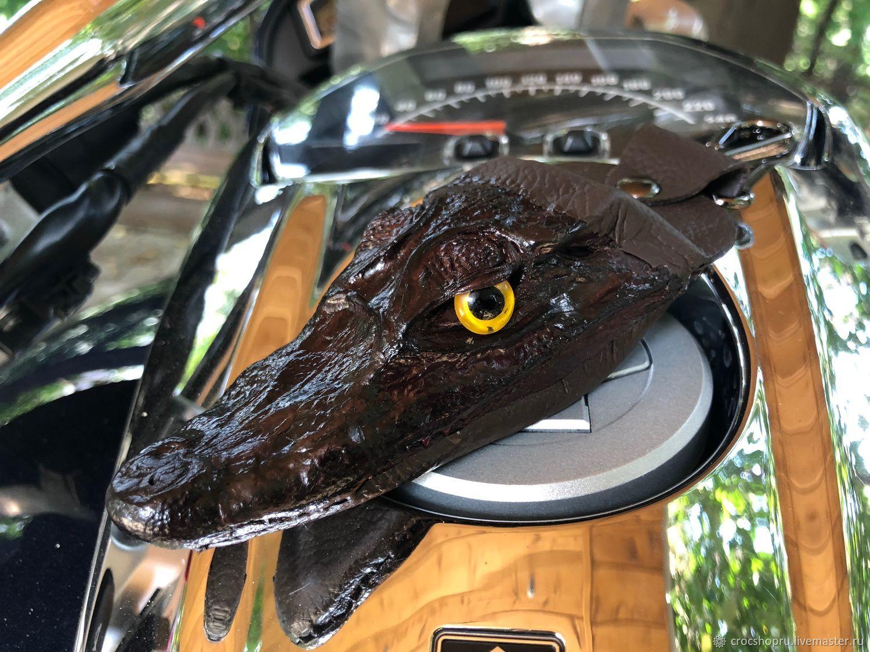 Брелок голова крокодила IMA0190VK