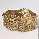 Грифон, браслет бронзовый, подарки для мужчин