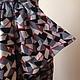 Одежда. Винтажное Платье 1970-х годов. VintageFetish. Интернет-магазин Ярмарка Мастеров. Летнее платье, серое платье, акция
