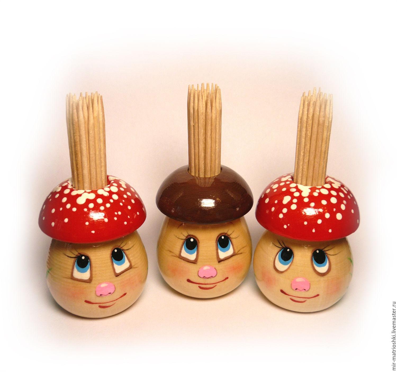 Mushroom toothpick, Kitchen sets, Sarov,  Фото №1