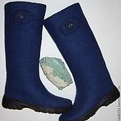 """Обувь ручной работы. Ярмарка Мастеров - ручная работа Сапоги """"Полярная ночь"""". Handmade."""