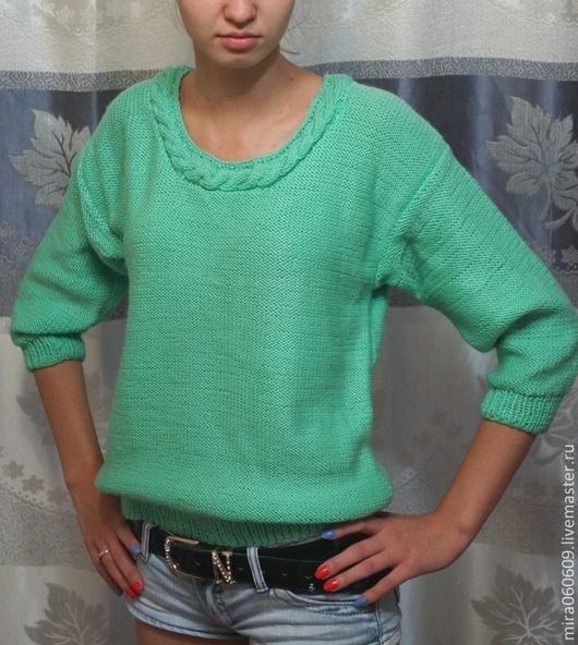 Кофты и свитера ручной работы. Ярмарка Мастеров - ручная работа. Купить Вязаная кофта, кофта, джемпер,свитер. Handmade.