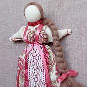 """Куклы и игрушки ручной работы. Ярмарка Мастеров - ручная работа Кукла Манилка """"Девушка в розовом"""". Handmade."""