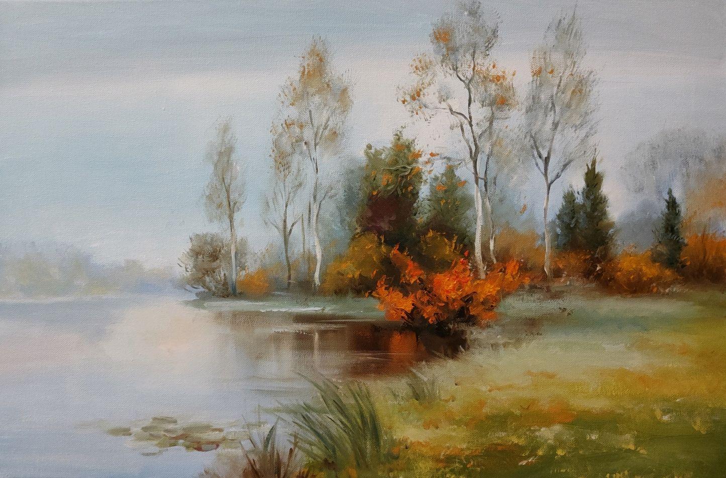 Осеннее настроение, Картины, Москва,  Фото №1