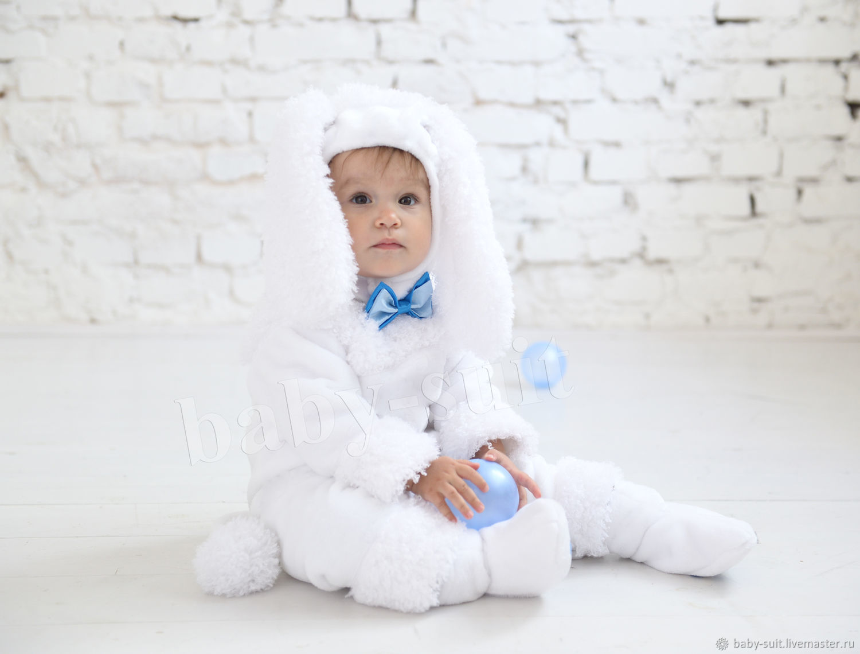 Костюм Белого Пуделя ( Символ 2018 года ) для малышей и детей