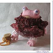 Куклы и игрушки ручной работы. Ярмарка Мастеров - ручная работа Текстильная Интерьерная Игрушка Жабка. Handmade.