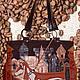 """Кожаная сумка """"Кофейное настроение"""" 3 отдела, Сумки, Белгород, Фото №1"""
