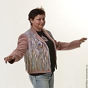 """Одежда ручной работы. Ярмарка Мастеров - ручная работа Жакет двусторонний """" У ручья"""". Handmade."""