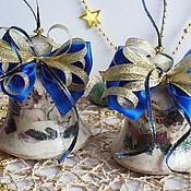 """Подарки к праздникам ручной работы. Ярмарка Мастеров - ручная работа Колокольчики """" Поющие ангелы""""  2 шт.. Handmade."""