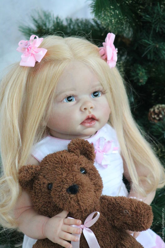 Куклы-младенцы и reborn ручной работы. Ярмарка Мастеров - ручная работа. Купить Кукла реборн Типпи из одноименного молда Линды Мюррей. Handmade.