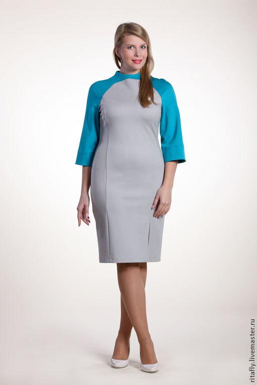 платье футляр платье джерси платье трикотаж платье для полных платье большой размер платье больших размеров платье большого размера платье офис платье офисное платье повседневное платье осень платье в