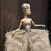 Куклы и игрушки ручной работы. Ярмарка Мастеров - ручная работа Королева белых шахмат. Handmade.