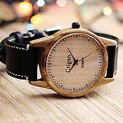 Украшения handmade. Livemaster - original item Wooden watches, men`s watches, oak, 07I4035OO. Handmade.