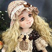 Куклы и игрушки ручной работы. Ярмарка Мастеров - ручная работа Коллекционная кукла Валентина. Handmade.