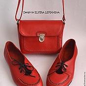 """Обувь ручной работы. Ярмарка Мастеров - ручная работа Ботики """" Ажурные"""". Handmade."""