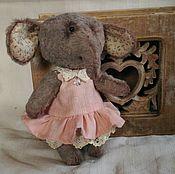 Куклы и игрушки ручной работы. Ярмарка Мастеров - ручная работа слоник Таша. Handmade.