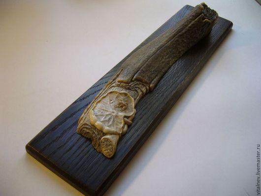 """Статуэтки ручной работы. Ярмарка Мастеров - ручная работа. Купить """"Медитация"""" - окимоно. Handmade. Тёмно-бирюзовый"""