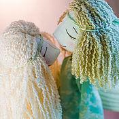 Куклы и игрушки ручной работы. Ярмарка Мастеров - ручная работа Коллекционные куклы Ангелы-Неразлучники. Handmade.