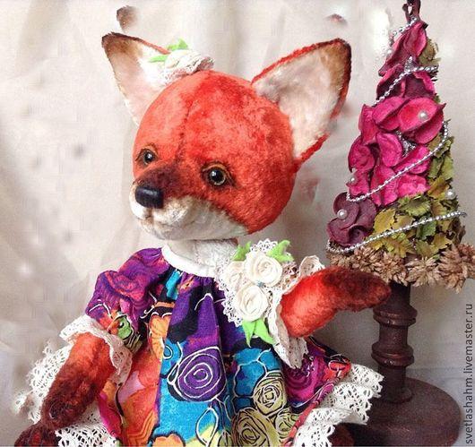 Мишки Тедди ручной работы. Ярмарка Мастеров - ручная работа. Купить Лися. Handmade. Рыжий, мишки тедди, глаза стеклянные