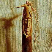 """Статуэтки ручной работы. Ярмарка Мастеров - ручная работа """"Бабушка Яга"""" (статуэтка из дерева). Handmade."""