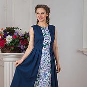 Одежда handmade. Livemaster - original item Dress linen Maiden. Handmade.