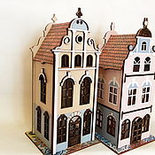 Для дома и интерьера ручной работы. Ярмарка Мастеров - ручная работа Чайный домик Старый город. Handmade.
