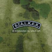 Субкультуры handmade. Livemaster - original item patch S. T. A. L. K. E. R. arc. Handmade.
