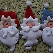 Куклы и игрушки ручной работы. Ярмарка Мастеров - ручная работа елочная игрушка. Handmade.