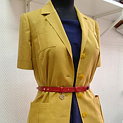 Одежда ручной работы. Ярмарка Мастеров - ручная работа Жакет-рубашка в стиле сафари. Handmade.
